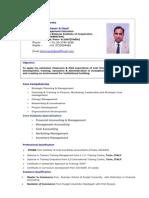 CV of P Sharma