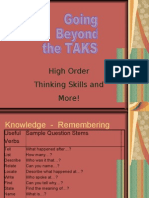 22167318 High Order Thinking Skills and More