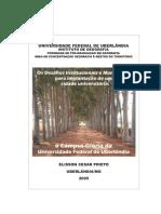 Dissertação Câmpus Glória UFU