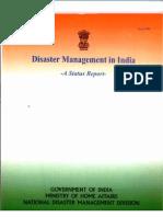 Disaster Management India Status Report August 2004
