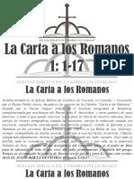 estudio a carta a los romanos 1