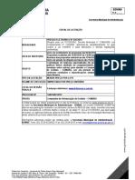 Edital de Material Gráfico Saúde Goiânia