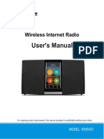 Sungale Wi-Fi Internet Radio