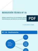 Resumen Resolucion Tecnicoa N 16 (Power Point)