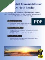 Digital Radial Immunodiffusion RID Plate Reader - MKG298.1
