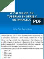 Semana 4_Cálculos en Tuberías Serie y Paralelo
