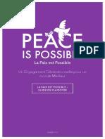 1 ΓÇô La Paix Est Possible ΓÇô Guide de Plaidoyer_FR