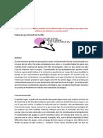 ensayo literario sobre   ¿Qué aspectos psicológicos pueden estar influenciados en las mujeres para que sean víctimas de violencia en el Ecuador?