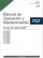 Manual de Operación y Mantenimiento D6T