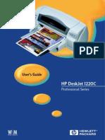 Hp1220c Manual