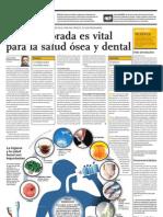 La sal fluorada es vital para la salud ósea y dental