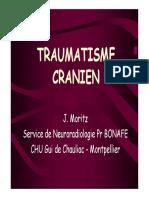 MIF 201 Trauma Cranien