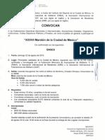 Convocatoria Maraton Cdmx 2019