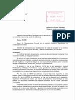 Resolució de la Junta Electoral Central sobre fer actes de campanya a la presó