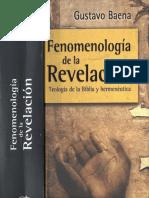 Baena_Fenomenologia de la revelacion_Fragmento
