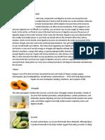Enzyme in Food - Megha Sharma