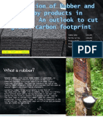Influence of Rubber in Concrete