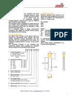 Maida Catalog Specifications Standard Series