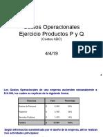 7. Enunciado Taller Costos ABC (Gastos Operacionales - P Y Q).pptx
