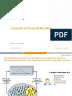 Longitudinal Forecast Modelling