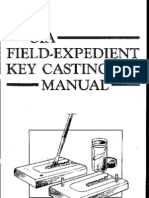 Paladin Press CIA Field-expedient Key Casting Manual 1988 7.02-2.6 Lotb