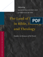 Religion - The Land of Israel in Bible, History, And Theology - Brill 2009