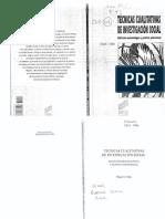 02 - Valles - Tecnicas Cualitativas de Investigacion Social - (8 Copias)