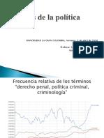 Presentación Política Criminal