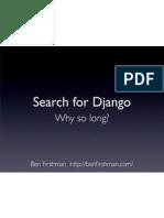 Search for Django – BarCamp London 6