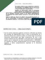 Clase Derecho Civil – Obligaciones Curso Completo [Autoguardado]