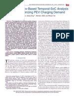 A Novel Markov-Based Temporal-SoC Analysis for Characterizing PEV Charging Demand