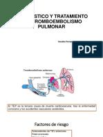 Diagnóstico y Tratamiento Del Tromboembolismo Pulmonar