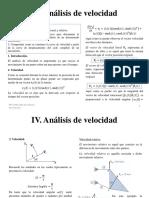 Clase 4 Analisis de Velocidad