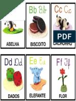 Cartões Alfabeto Ilustrado