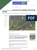 Causas Ambientales de La Tragedia en Mocoa - Medio Ambiente - Vida - ELTIEMPO.com
