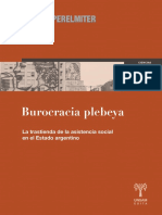 Burocracia Plebeya, Luisina Perelmiter
