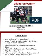 Zone Off Rocket Jet Motion