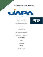 MEDICINA FORENCE UNIDAD VI.docx