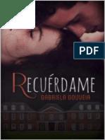 Recuérdame - Gabriela Gouveir