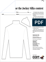 Courier Journal's Color the Jockey Silks Competition  2019