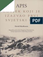 David MacKenzie - Apis - Čovjek koji je izazvao prvi svjetski rat.pdf