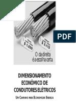 Condutores Eletricos Dimensionamento Economico