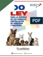 Ley 700 protección de los animales