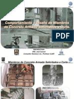 B2_T3_Diseño de Miembros de Concreto Armado Solicitados Por Corte