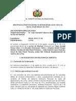 Sentencia Constitucional 0219 2015 S1