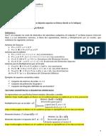 Resumen 1 (Vectores Geométricos vs Vecores Por Componentes)