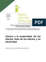 Calvino y La Modernidad
