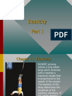 Physics Elasticity