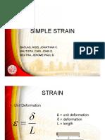 SIMPLE-STRAIN