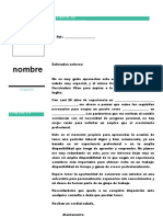 Carta de Presentación222